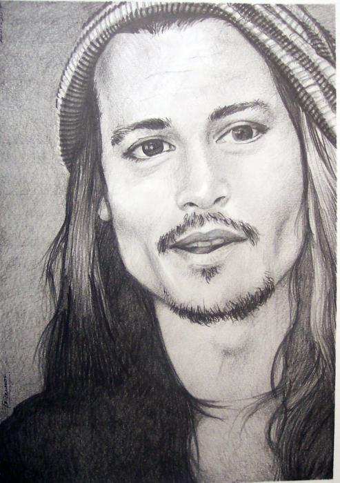 Johnny Depp by Gamor